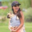 Bike with your dog! Carla Abarca and Loui