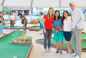 AFTER HOURS:  CBMR hosted the business after hours mixer with the Mt. CB and CB Chambers at the Flying Gopher Mini Golf Course on Thursday, June 16.      photo by Lydia Stern