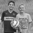 Soccer. Jacob Bernholtz and Jamis Matlock