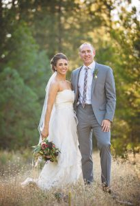 CONGRATULATIONS: Eric and Melissa Reinhardt tied the knot on July 30, 2016, in the Sierra Mountains of California.      courtesy photo