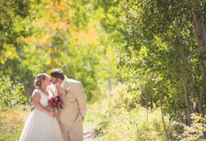 CONGRATULATIONS:  Kristina Lean and Stephen Hattendorf were married at Woods Walk on Saturday, September 10.  photo by Lydia Stern / Sweet Tea Studios