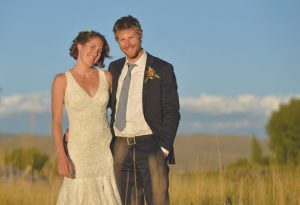 CONGRATULATIONS: Lauren Holbrook and Tim Kugler were married September 9, 2016 at the I Bar Ranch in Gunnison. photo by Chris Miller