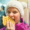 I eat lots of waffles. Mia Haverkampf