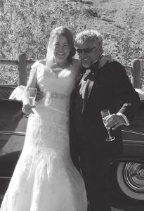 CONGRATULATIONS:  Amy Williams and Miguel Moré were married September 15, 2016 at the Mt. Crested Butte Wedding Garden.  courtesy photo