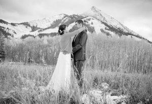 WEDDING BELLS: Megan McCahill and Mike Michuda had a wonderful white wedding at CBMR. Photo by Petar Dopchev.